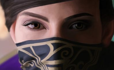 Emily Kaldwin, face, dishonored video game