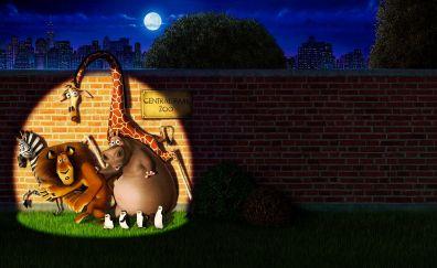 Madagascar animated movie, 2005 movie