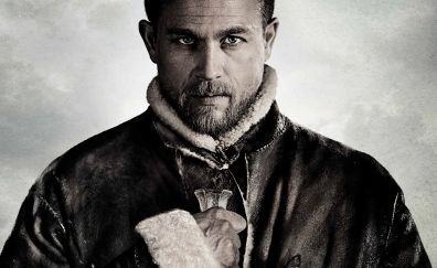Charlie Hunnam, King Arthur: Legend of the Sword, 2017 movie