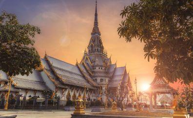 Temple, architecture, religion