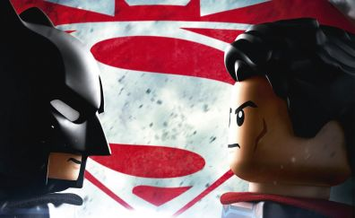 The lego movie, batman and superman