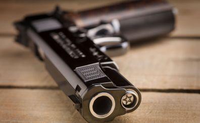Cabot gun, pistol, luxury weapon
