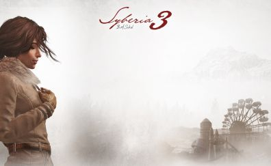 Syberia 3 video game, poster