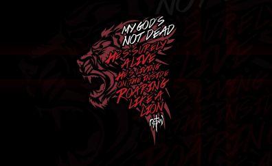 Lions roar artwork