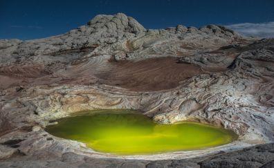 Green Pond at White Pocket