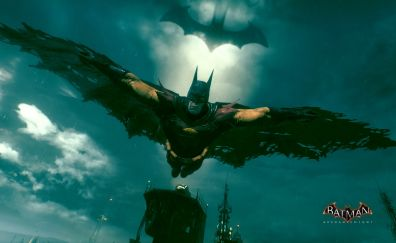 Batman: Arkham Knight video game, flying