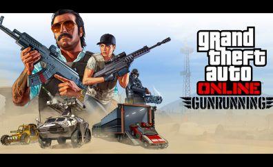 GTA 5 Online: Gunrunning, video game, game