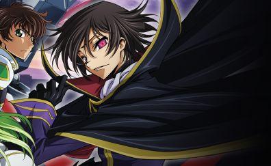 Lelouch Lamperouge, Code Geass, Suzaku Kururugi, anime