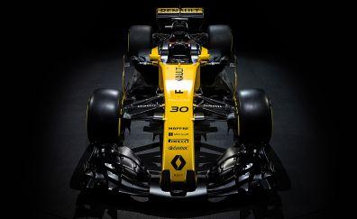 Renault R.S.17, 2017 Formula 1, yellow car