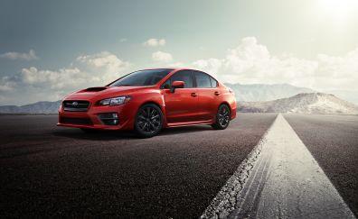 Subaru wrx sti impreza sports car