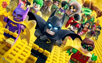 The Lego batman animation movie