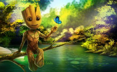 Baby Groot artwork