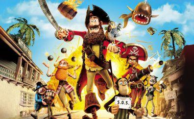 The Pirates! Band of Misfits, 2012 movie, animated movie