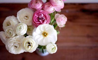 Ranunculus, Buttercup flower bouquet