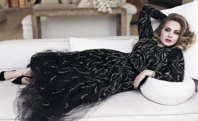 Adele, English singer, 4k