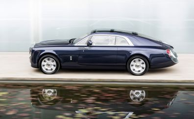 2017 car, Rolls-Royce Sweptail, side view