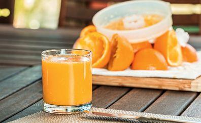Orange citrus fresh fruit juice