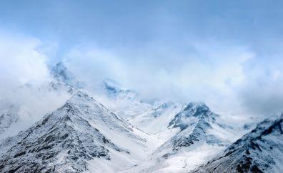 Snow mountains, asus zenfone