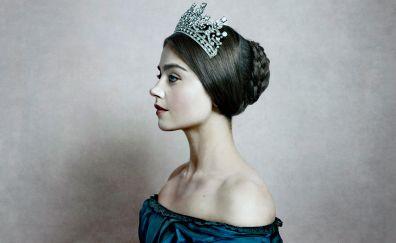 Victoria TV show, Jenna Coleman, actress, crown