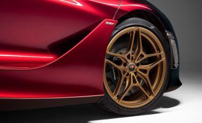 McLaren 720S, car, wheel