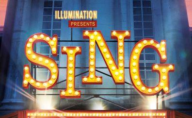Sing animation movie