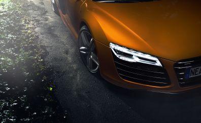 Audi Car, headlight