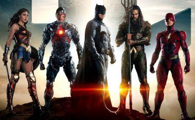 Justice League, 2017 movie, team of superhero
