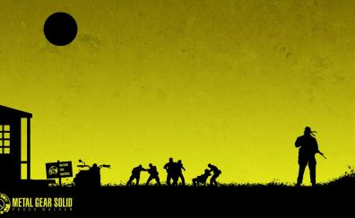 Metal gear solid video game, soldier, artwork