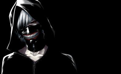 Ken kaneki, tokyo ghoul, anime, dark