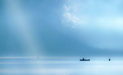 Lake annecy, blue water, blue lake