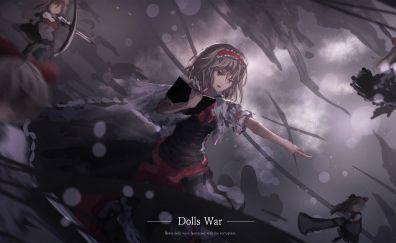 Shanghai Doll, Alice Margatroid, Touhou, anime girls