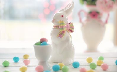 Holiday, Easter bunny, candy, colorful
