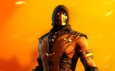 Scorpion, warrior, Mortal Kombat video game