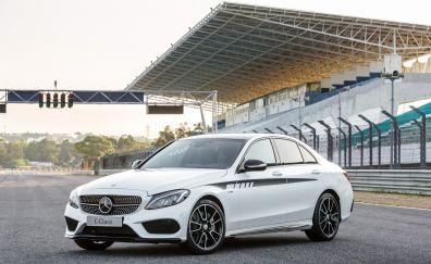 Mercedes-Benz C class luxury car