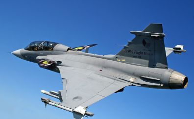 Saab Jas 39 Gripen fighter aircraft