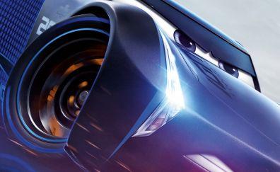 Angry Jackson Storm, Cars 3, movie, 4k