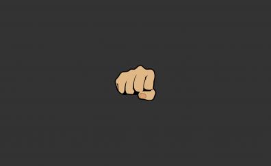 Bro, fists, hands, minimal