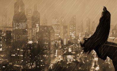 Batman, The guardian of gotham city, night