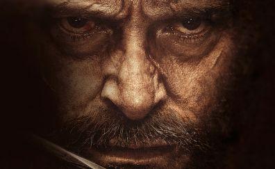 Hugh jackman, wolverine, logan face