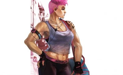 Zarya, overwatch, game