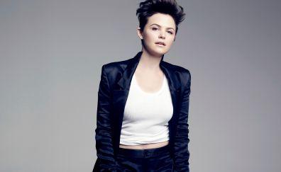 Actress, celebrity, Ginnifer Goodwin, short hair