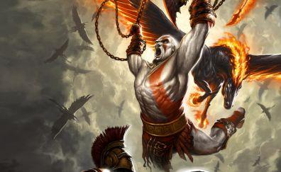 son of Kratos, God of war game