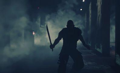 Man, Dying Light video game, night