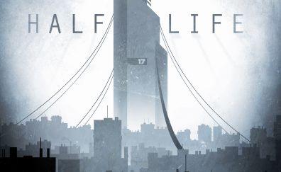 Half-Life 2, city, gaming