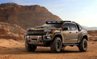 Chevrolet SUV car, desert