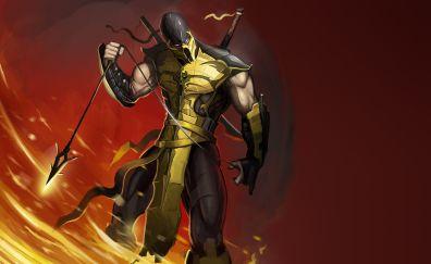 Scorpion, mortal kombat video game