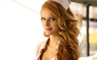 Bella Thorne, American celebrity, red head