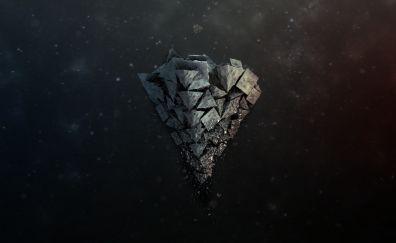 Shards stone