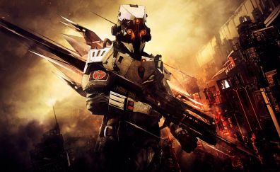 Killzone Shadow Fall video game, solider