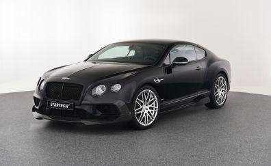 Black Bentley Continental GT, luxury car